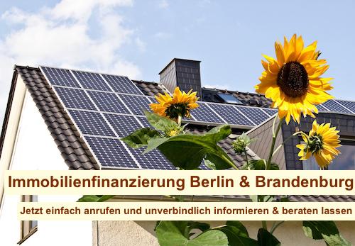 Baufinanzierung über Vermittler Berlin
